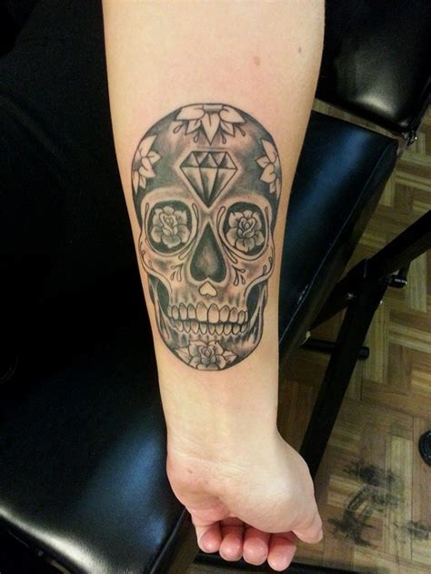 skull tattoos on forearm 20 skull wrist tattoos design