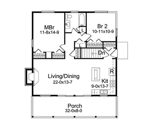 vacation cabin floor plans jacinto vacation cabin home plan 057d 0034 house plans