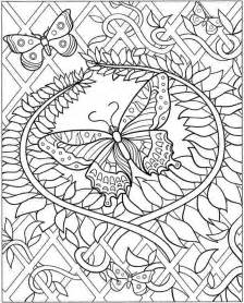 Doodle coloring page intricate flowers 1 intricate coloring pages