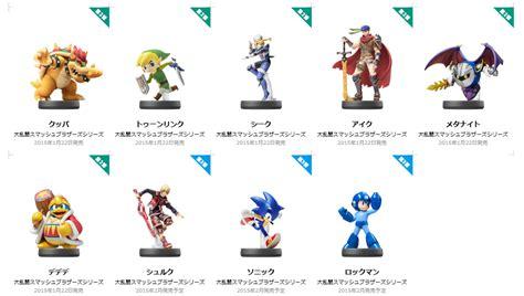 Nintendo Reveals New Amiibo Figures Including Mega Man and