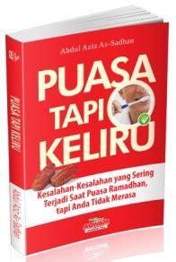 Buku Islam Shalat Tapi Keliru Cover puasa tapi keliru abdul aziz as sadhan aqwam