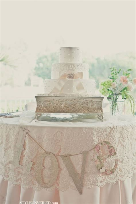 Wedding Banner With Stand by Signs Cake Stands And Cakes On