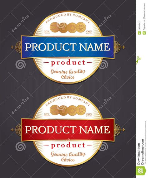 doc473368 label design templates product sle of