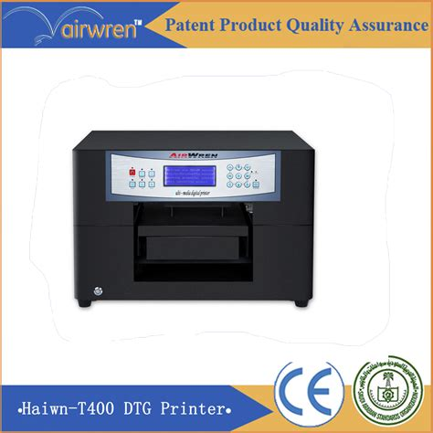 Printer Dtg A4 Best Sale A4 Dtg Fabric Printer Cmykw Color Print On T Shirt In Printers From Computer