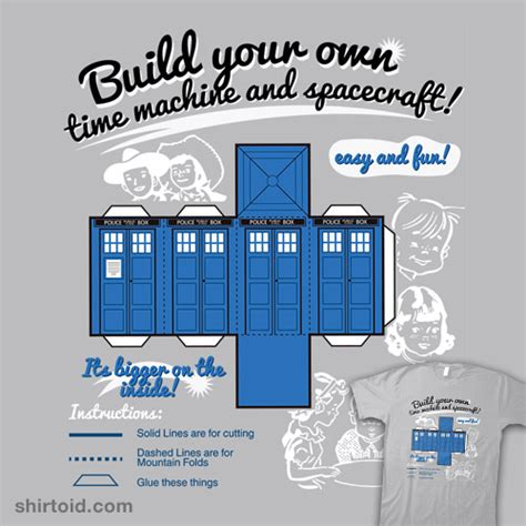 Buy Your Own Time Machine On Ebay by Build Your Own Time Machine And Spacecraft Shirtoid
