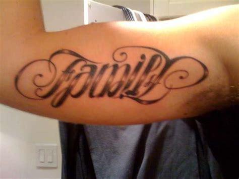 tattoo family friends family friends ambigram tattoo