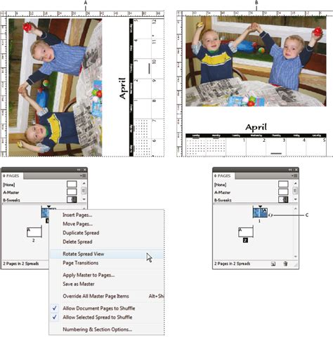 indesign layout view manage pages and spreads in indesign
