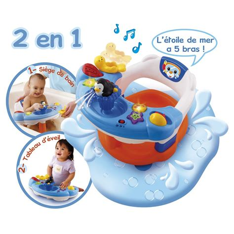 siege de bain bebe si 232 ge de bain interactif vtech jouets 1er 226 ge jouets
