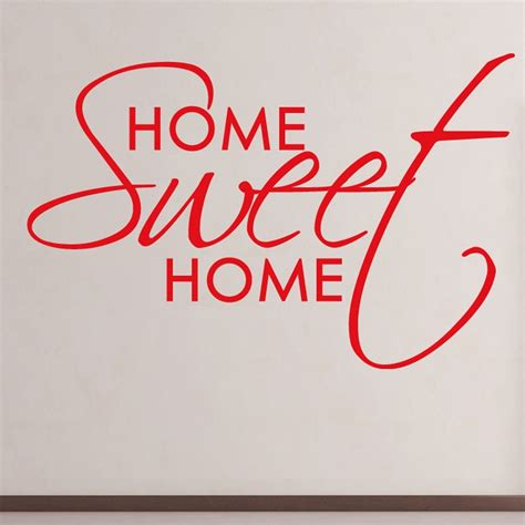 home sweet home wall stickers wall chimp made home sweet home kitchen wall sticker