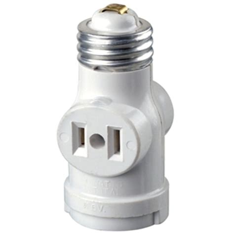 leviton 2 outlet white socket with pull chain r52 01406
