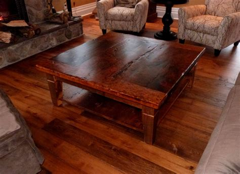 rustic glass coffee table rustic square coffee table