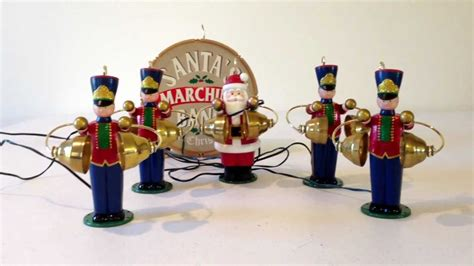 animated santa band mr santa s marching animated musical band