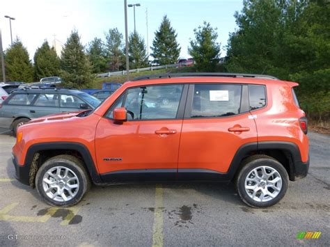jeep renegade orange omaha orange 2016 jeep renegade latitude 4x4 exterior