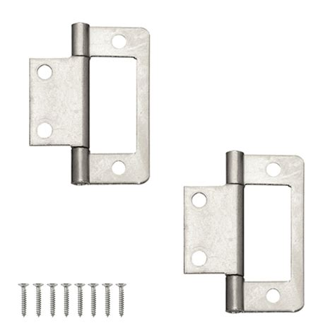 inset cabinet door hinges pair of flush inset cabinet and louvre door hinges in zinc