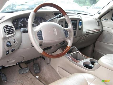 2000 Lincoln Navigator Interior by 2000 Medium Charcoal Blue Metallic Lincoln Navigator
