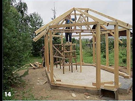 pavillon 8 eckig holz laube selber bauen gartenlaube selber bauen