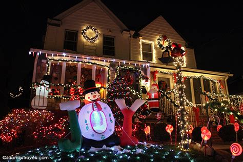 Dyker Heights Lights Address by S Lights And A Cannoli Luxe