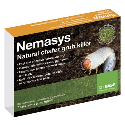 how to kill grubs naturally nemasys chafer grub killer chafer grub dt brown