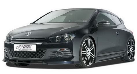 Blackpanda Bp 207 Cgrey vw scirocco coupe kitted out by rdx racedesign
