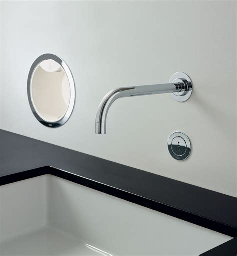 Chicago Kitchen Faucet Contemporary Vola Wall Mount Faucet Hydrology