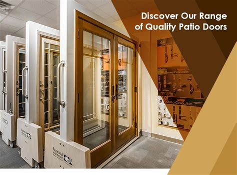 Patio Doors Quality Discover Our Range Of Quality Patio Doors
