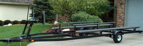 pontoon boat trailer design weeres custom made nationwide pontoon trailers