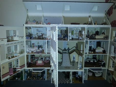 large doll house for sale for sale large unique dolls house contents the dolls house exchange