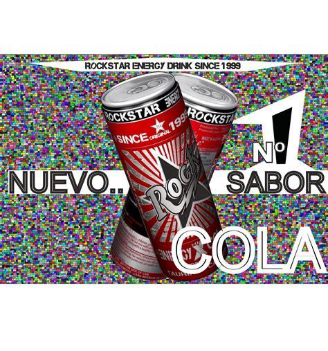 u star energy drink rockstar energydrink rockstar nuevo sabor x cola