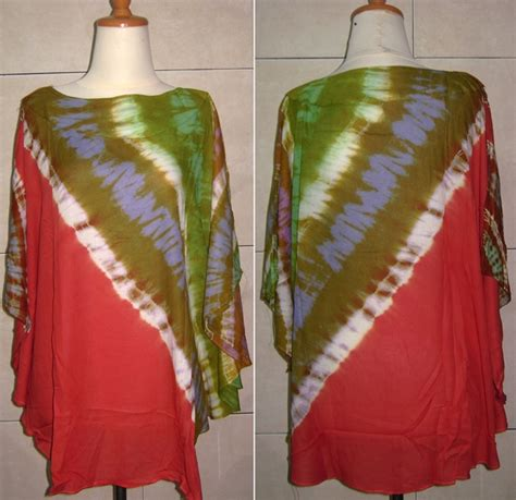 Mukena Batik Jumputan Tanpa Kepala lilacshop aneka batik