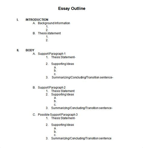 free outline template search results for outline format essay calendar 2015
