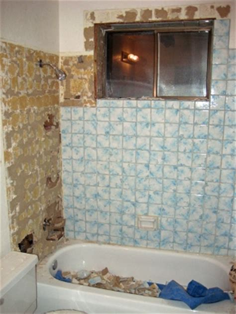 retiling tub surround is a case of keeping dry repair home
