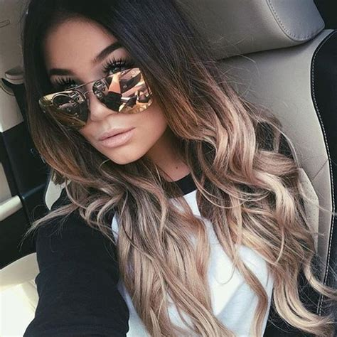 best ombre hair color for brunettes 60 trendy ombre hairstyles 2018 brunette blue red