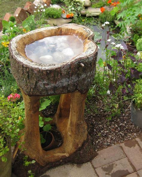 attractive     reusing   tree stumps