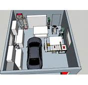 Car Garage Workshop Layout Motordb Diy Plans Woodshop
