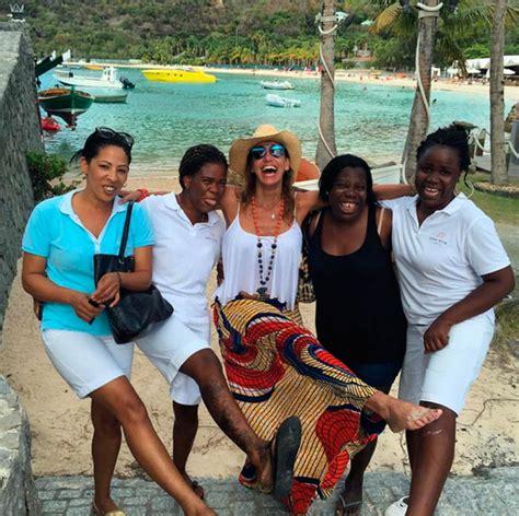 Fotos De La Familia De Lili Estefan | lili estefan de vacaciones en el caribe con su familia