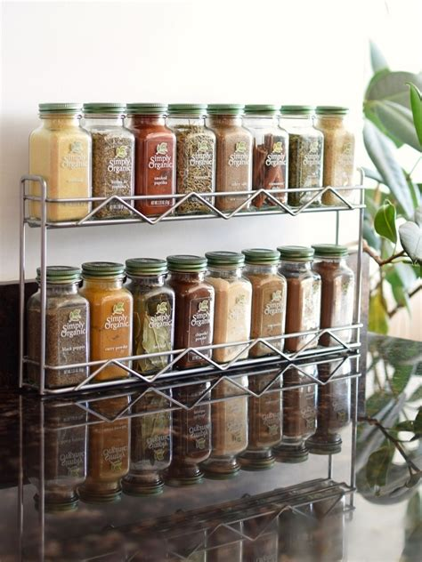 Simply Organic Spice Rack 10 delicious dairy free food gifts for everyone on your list