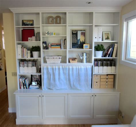 using ikea kitchen cabinets for family room ikea hack 2 besta built in family room tv bookshelf