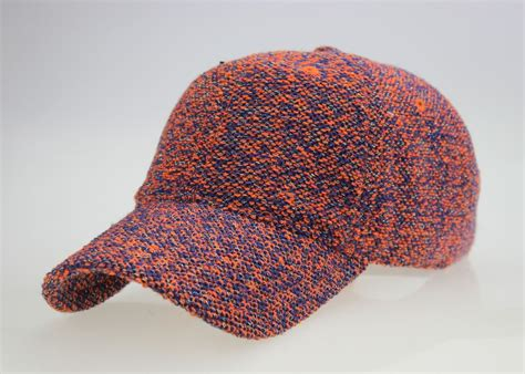 wholesale crochet knitted winter baseball hat with any