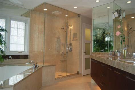 glass enclosed shower bathroom remodeling considerations for a glass enclosed