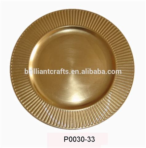 wholesale charger plates not for food use wood plastic wholesale charger