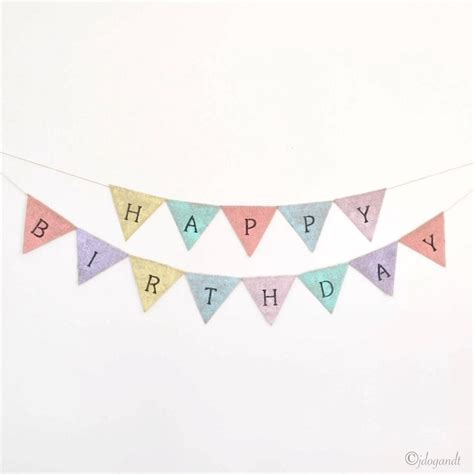 Bunting Flag Happy Annivesary happy birthday bunting painted hessian rustic shabby chic flags banner ebay