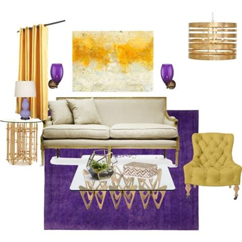 Purple And Gold Living Room by Purple And Gold Living Room D2d Studio Work