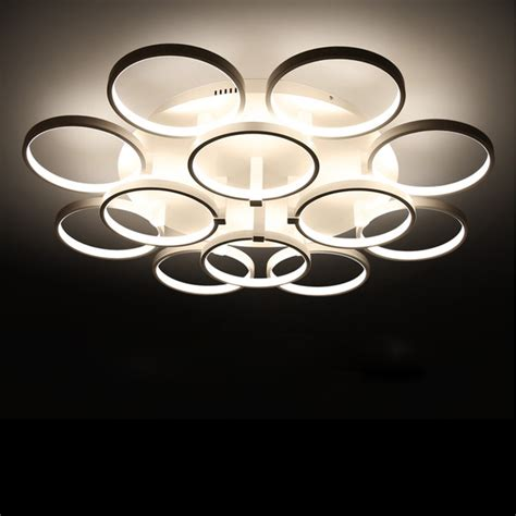 aliexpress buy circle rings designer ceiling l