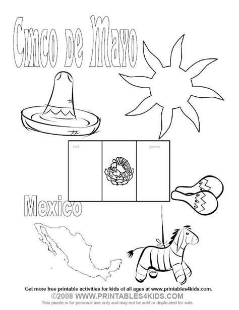 cinco de mayo coloring pages to download and print for free
