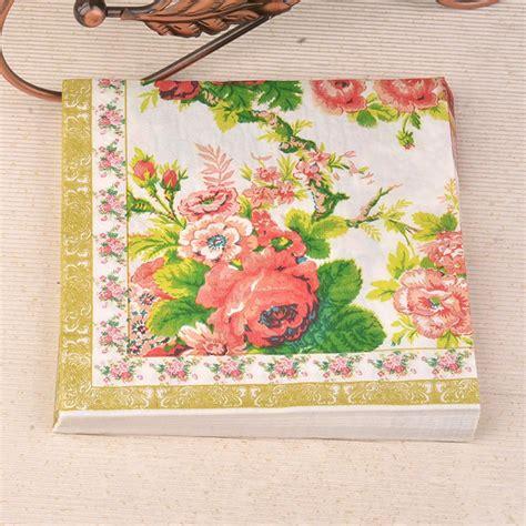 Promo Tissue Decoupage cocktail napkins paper promotion shop for promotional cocktail napkins paper on aliexpress