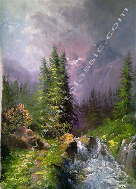 mountain landscape acrylic painting paintings gallery