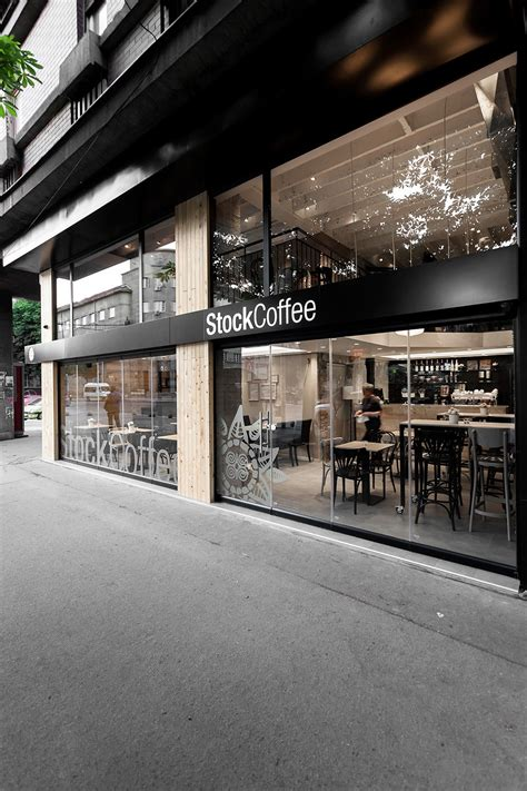 architectural design of coffee shop architecture stock coffee project retail space converted