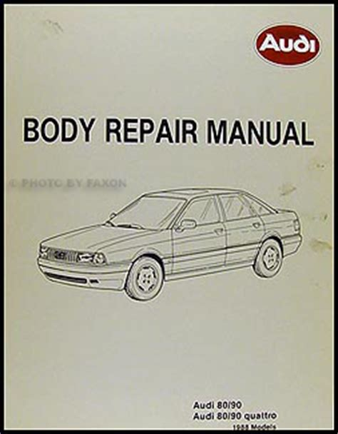 car service manuals pdf 1988 audi 80 90 lane departure warning 1988 1991 audi 80 and 90 bentley repair shop manual