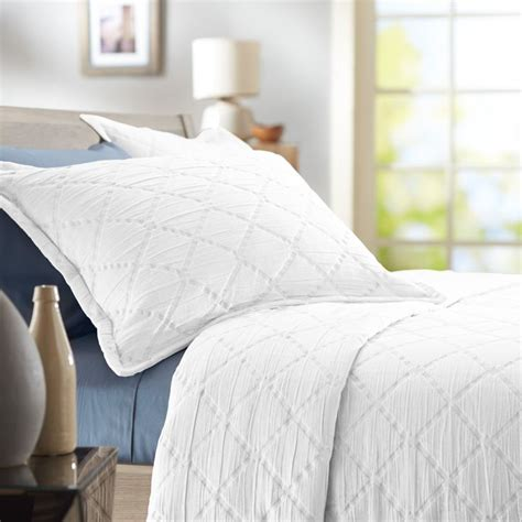 white twin coverlet save 59 on the pinzon 100 percent stone washed cotton
