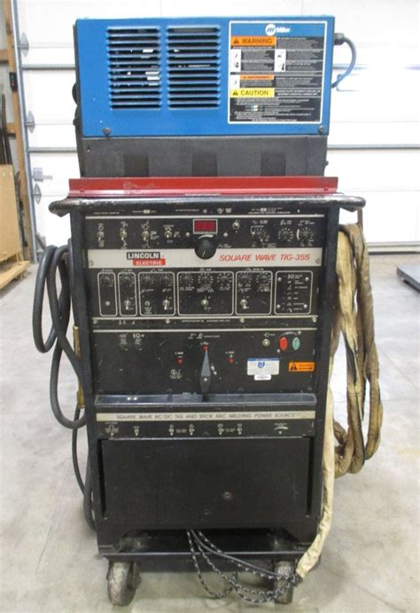 lincoln 350 welder lincoln electric square wave tig 355 stick and tig welder